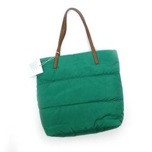 UGG Blaise Beetle Green Nylon / Leather Purse NEW!